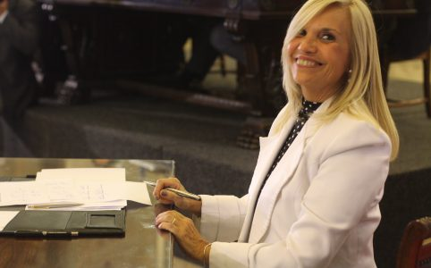 Beatriz Argimón. Foto: Gimena Morales
